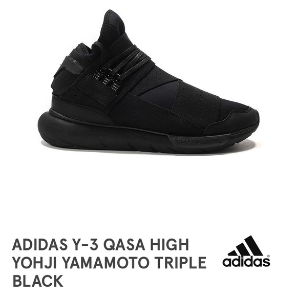 723abc40b1 adidas Shoes - New! Adidas Y-3 Qasa Yohji Yamamoto Triple Black